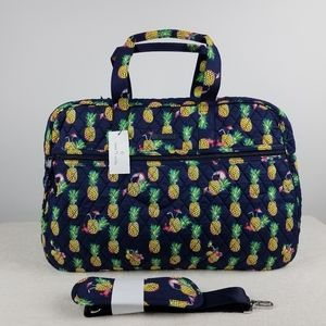 Vera Bradley Grand Traveler Bag Toucan Party NWT